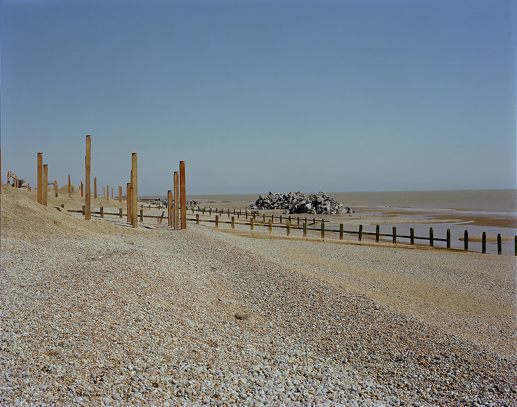 iminal VII - Winchelsea Beach, Kent, 5/4 Negative, Hand Printed Digital C-Type - 31 x 40ins / 79 x 102cms  (Edition of 25) £400.000 Print Only