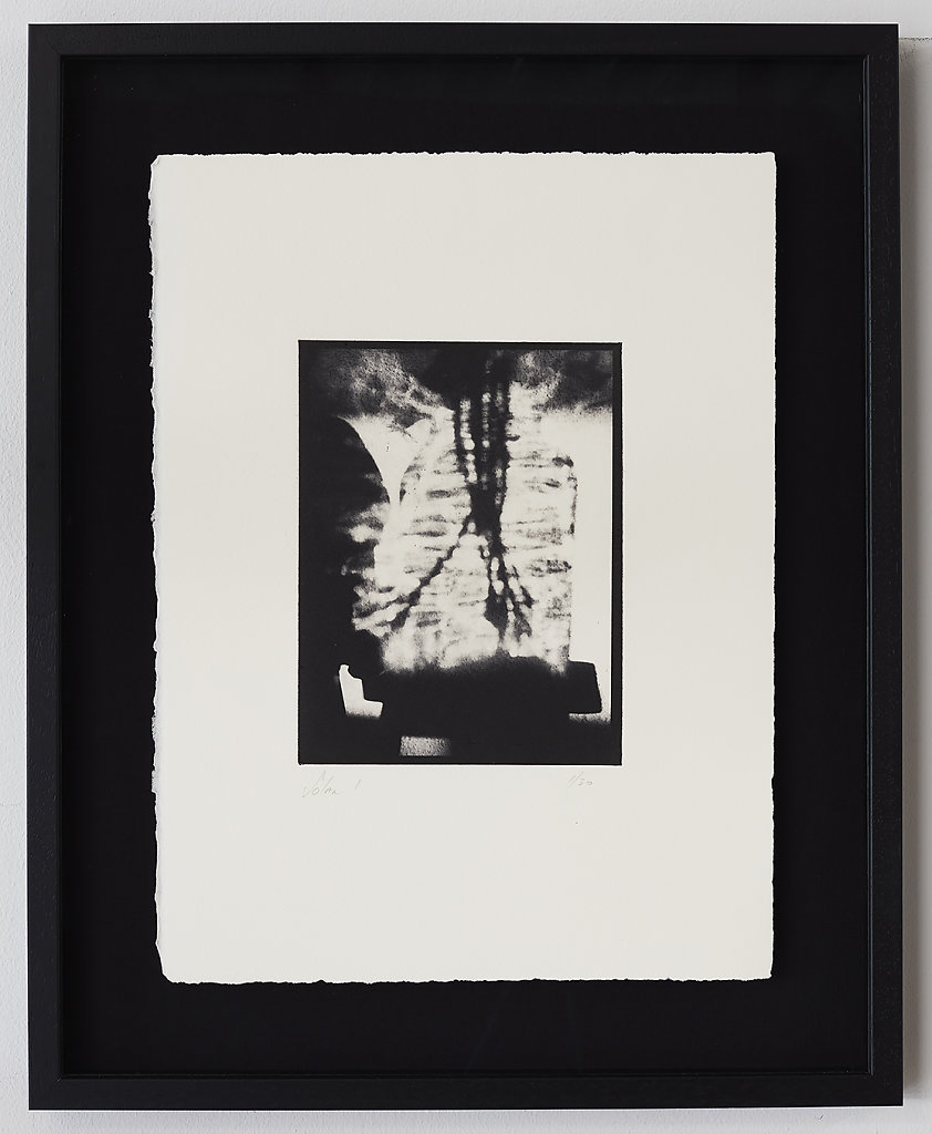 Solar I - Solar Plate Intaglio Print on Somerset Paper  - 49.5cms x 40.0cms - Edition of 30 - £330.00 Framed